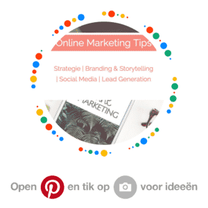 Pinterest barcode - bord - Strong & Bold Marketing