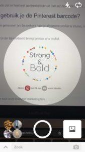 Pinterest barcode gebruiken - online marketing